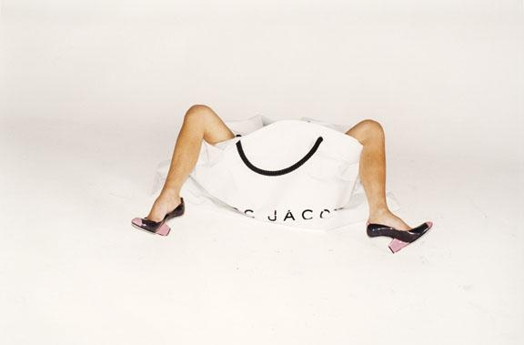 Victoria Beckham, Marc Jacobs campaign SS08. Legs, Bags and Shoes, LA 2007.