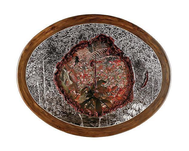 ADRIANA VAREJAO Paisagem Canibal (Cannibal Landscape), 2003