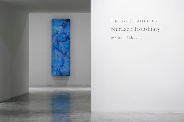 Shirazeh Houshiary, The River Is Within Us
