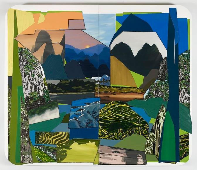米卡琳·æ¹¯é¦¬æ–¯ Hong Kong Landscape, 2013