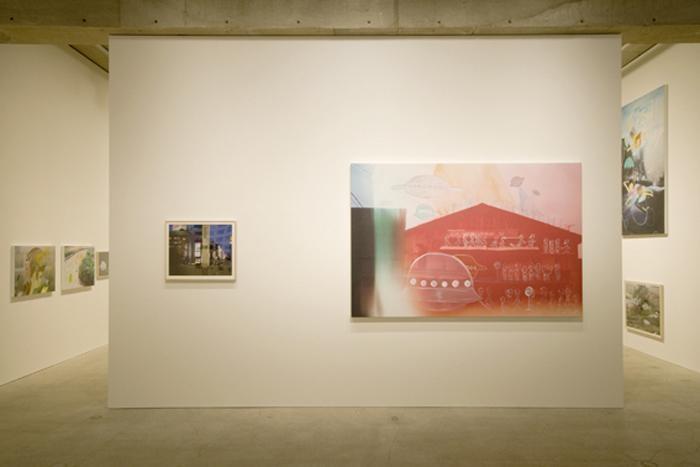 Installation view of SUN at Kaikai Kiki Gallery, 2008