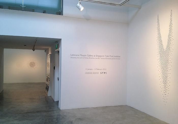 Lehmann Maupin at Singapore Tyler Print Institute (STPI) Installation view 1
