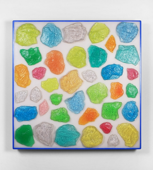 ASHLEY BICKERTON Wall-Wall No.15 (Clear), 2015