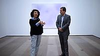 Shirazeh Houshiary and Joachim Pissarro in conversation