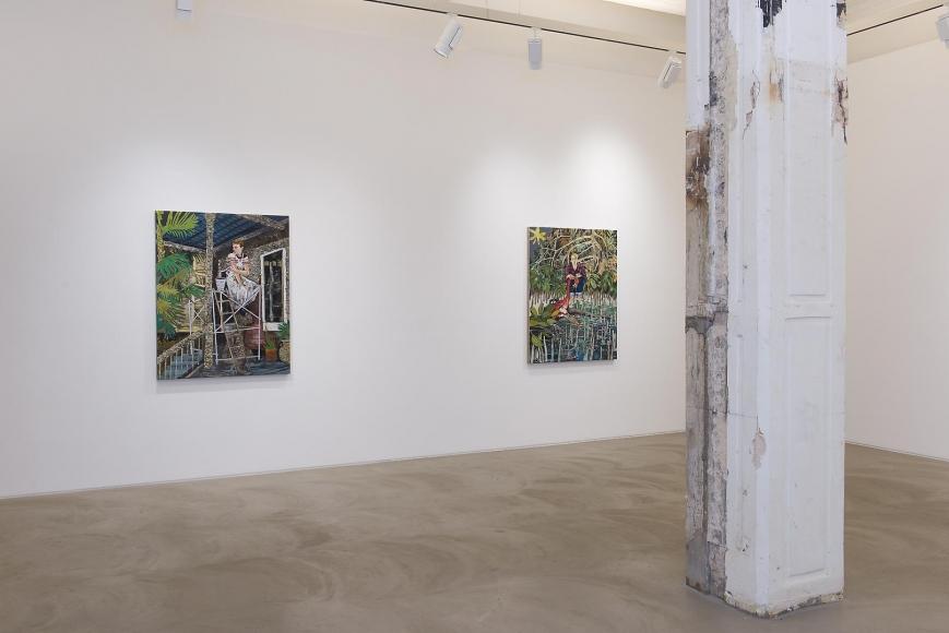 Hernan Bas: Case Studies Installation view 2