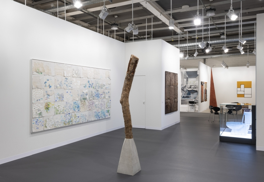 Lehmann Maupin Art Basel 2019 booth, installation view, perspective 2