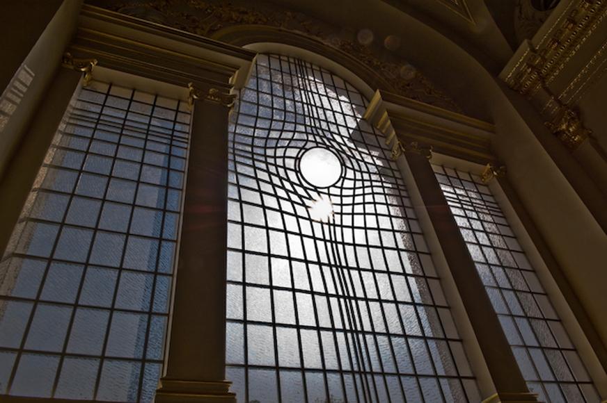 Shirazeh Houshiary and Pip Horne, East Window, 2008