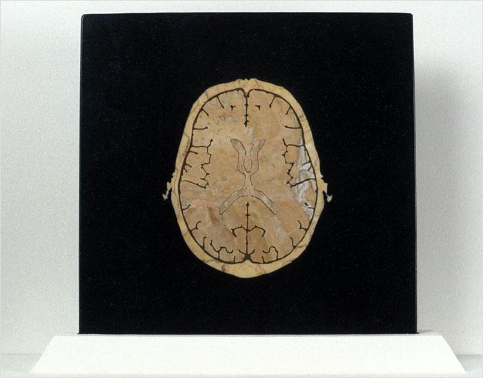 Inlay, 2002 marble inlay