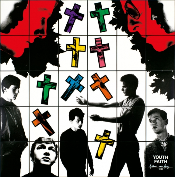 GILBERT & GEORGE, YOUTH FAITH, 1982 © Gilbert & George