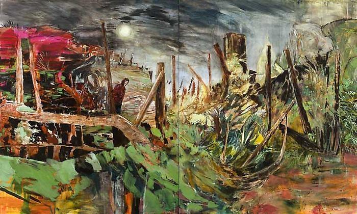 HERNAN BAS A Landscape to Swallow You Whole, 2011