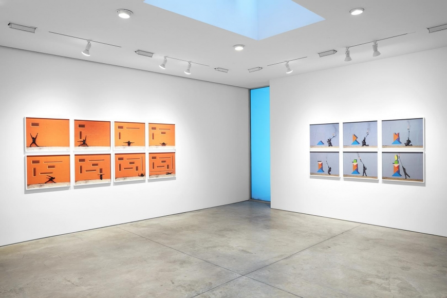 Robin Rhode, The Geometry of Colour installation view 8