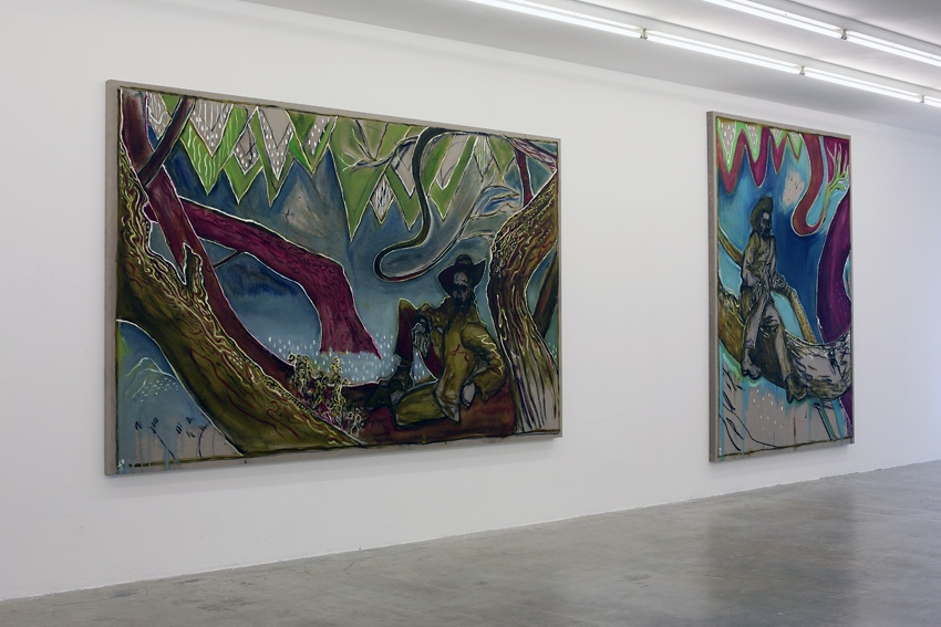 Installation view, Paintings Sweet Paintings, Neuer Aachener Kunstverein