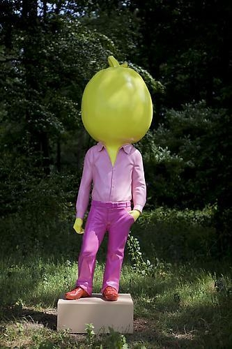 "ERWIN WURM ""Big Pumpkin"""