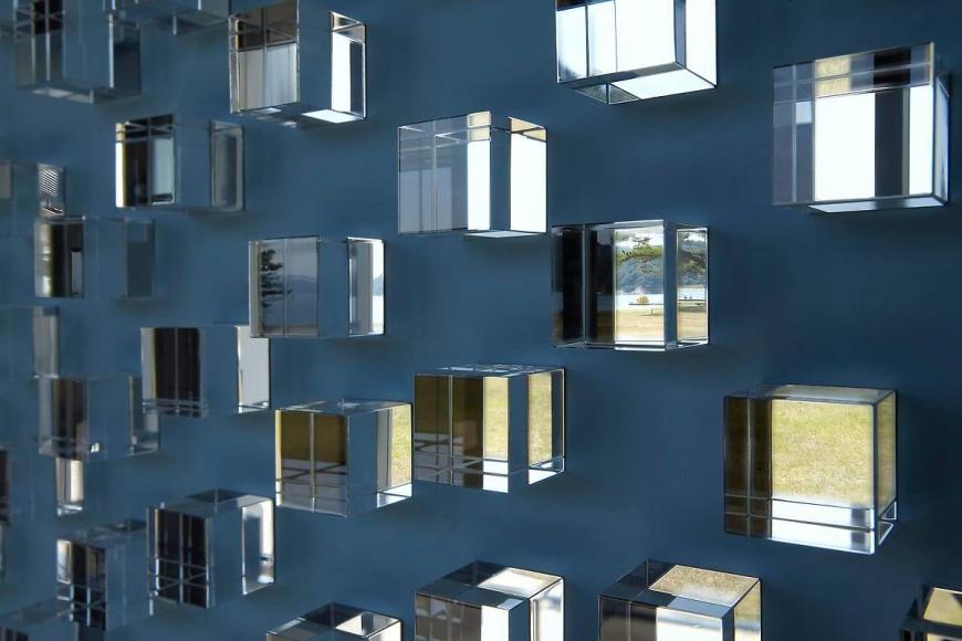 特雷西塔· 費爾南德斯 Blind Blue Landscape (detail), 2009