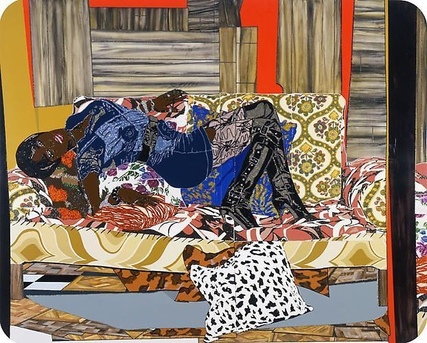 MICKALENE THOMAS Naughty girls (need love too), 2009