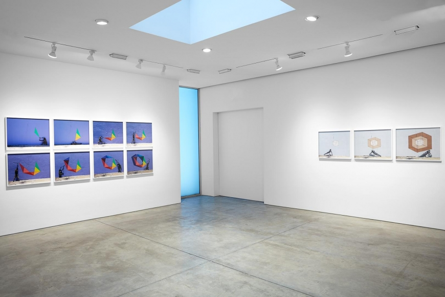 Robin Rhode, The Geometry of Colour installation view 5