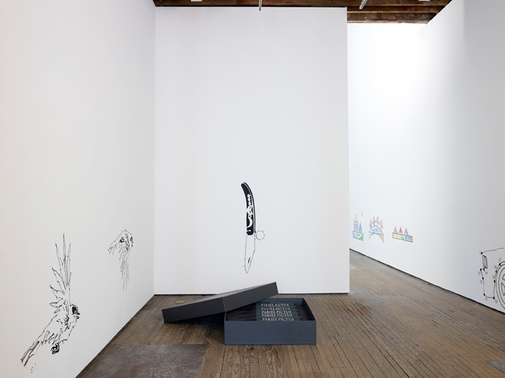 ROBIN RHODE: Paries Pictus Installation view 2