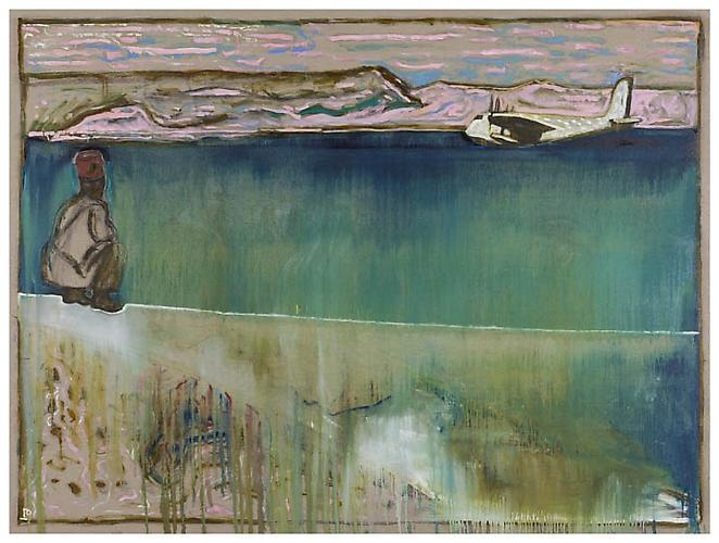 BILLY CHILDISH Sea of Galilee, 2012