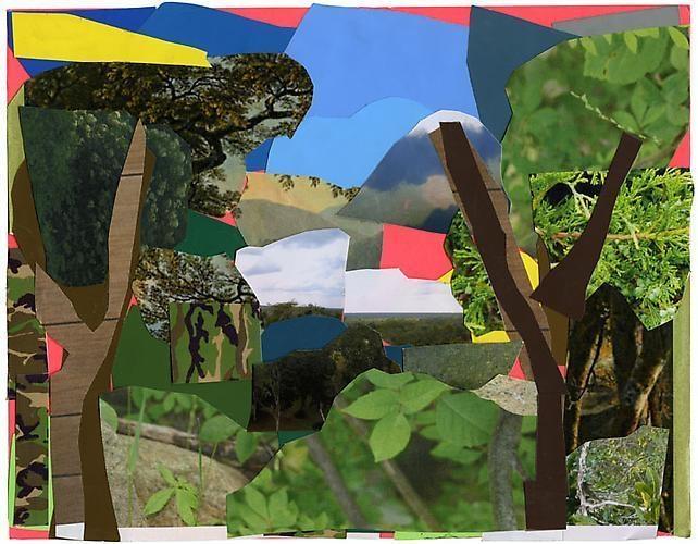 MICKALENE THOMAS Landscape with Camouflage, 2011