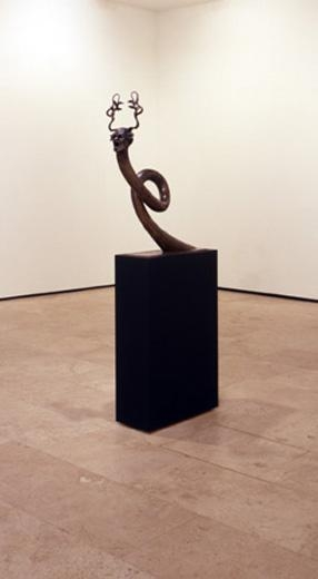 ASHLEY BICKERTON Single Snake Head , 2007