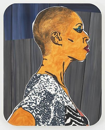 MICKALENE THOMAS Portrait of Sidra, 2011