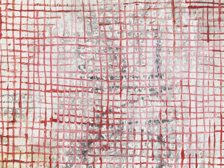 MANDY EL-SAYEGH, Net-Grid Study (ONE), 2019 (detail)
