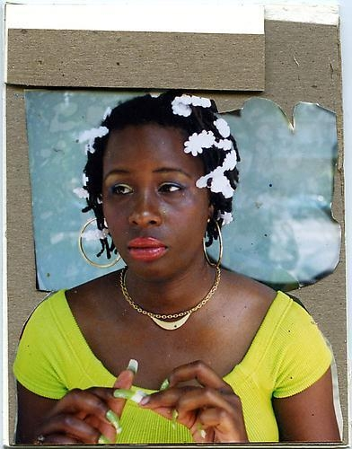 MICKALENE THOMAS Portrait of Mickalena, 2010