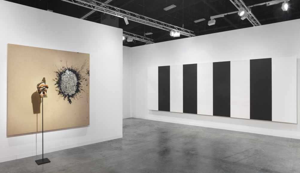 Installation view of Lehmann Maupin's booth at Art Basel Miami Beach 2018, view 6
