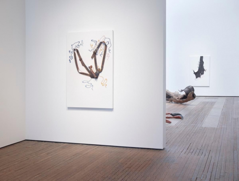 尼可拉斯·è³€ç¾…伯 裝置視圖 紐約立木畫廊