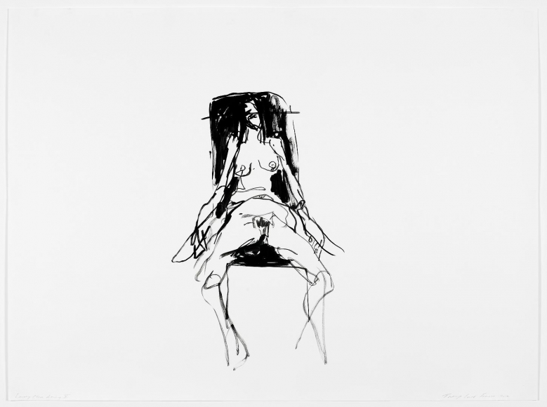 TRACEY EMIN Lonely Chair drawing V, 2012