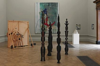 Installation view at The Royal Academy of Art, 2008