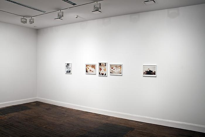 Installation view of Juergen Teller exhibition at Lehmann Maupin in New York in 2012, view 6