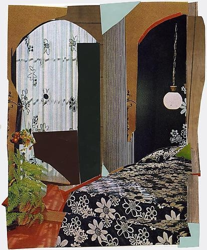 MICKALENE THOMAS Interior: Bedroom with Flowers, 2011