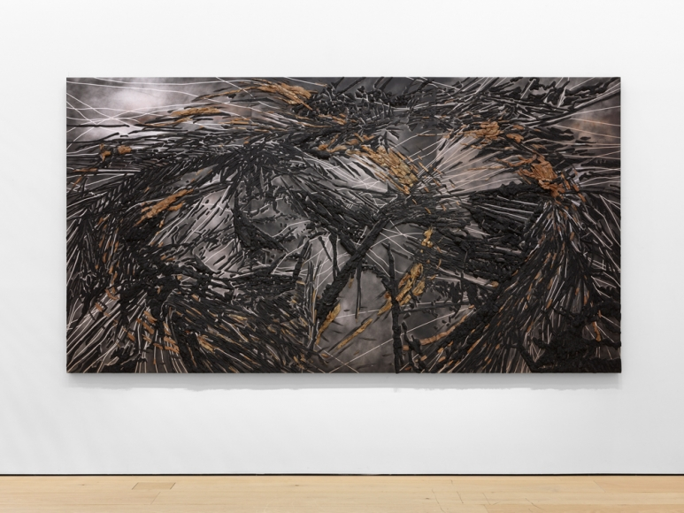 TERESITA FERNÁNDEZ, Black Beach(Unpolished Diamond) 1, 2020