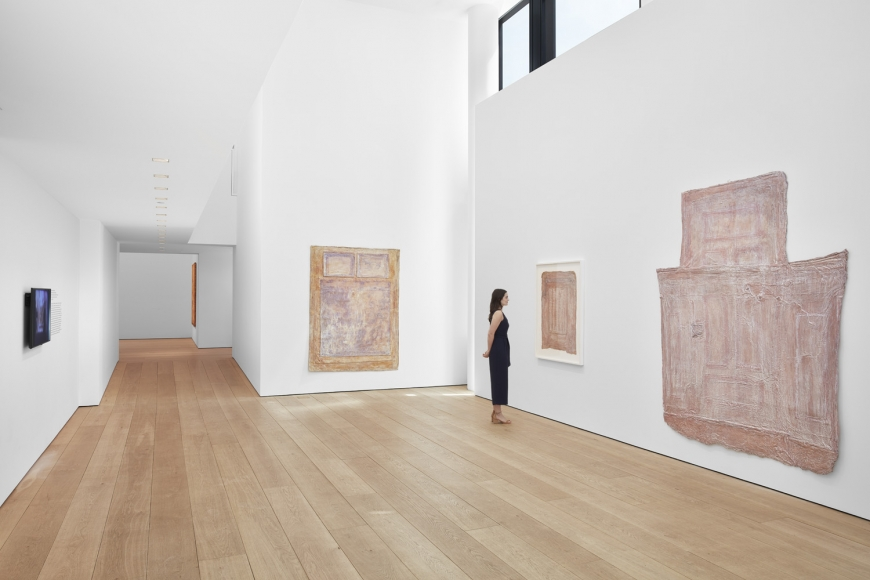 Heidi Bucher, The Site of Memory, Installation view at Lehmann Maupin, New York