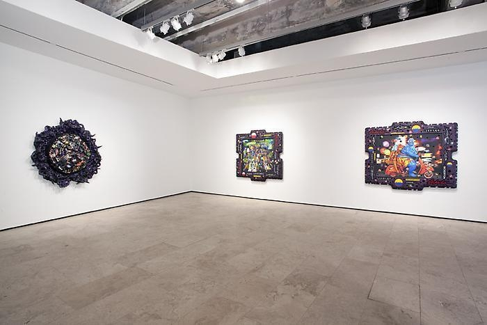 ASHLEY BICKERTON Nocturnes Installation View 3