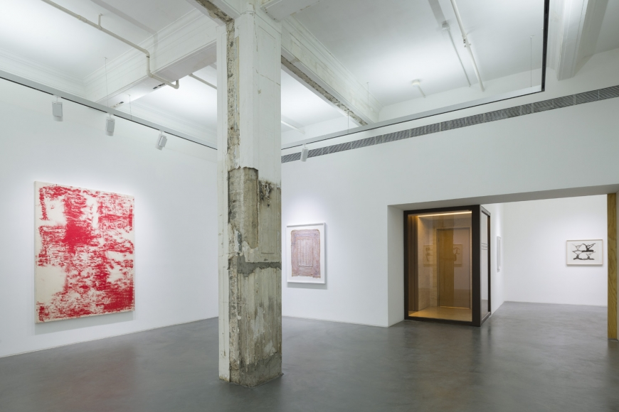 Fourth installation view of the group exhibition be/longing at Lehmann Maupin Hong Kong