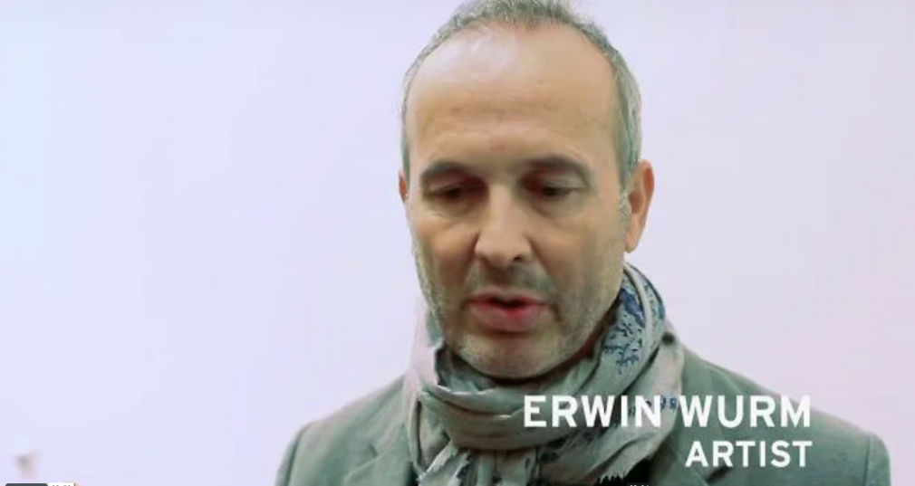 "LM ARTIST VIDEO SERIES: ERWIN WURM, 2010, LM Artist Video Series invites you to explore Erwin Wurm's latest body of work, including performances, photography, video, installation and large freestanding sculptures. This edition of our ongoing video series features an explanation from the artist himself on how his new series, ""gulp"", addresses the ""social envelope"" while taking on complex subjects such as psychology, philosophy, and sociology through an unexpected use of clothing, food, furniture, cars, and houses. The video features commentary from artist Elfie Semotan, a leader in Austria's avant-garde, who notes how the exhibition demonstrates Erwin Wurm's ability to push ""very consciously into new territories."""