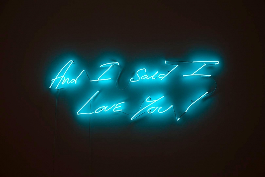 TRACEY EMIN And I Said I Love You!, 2011