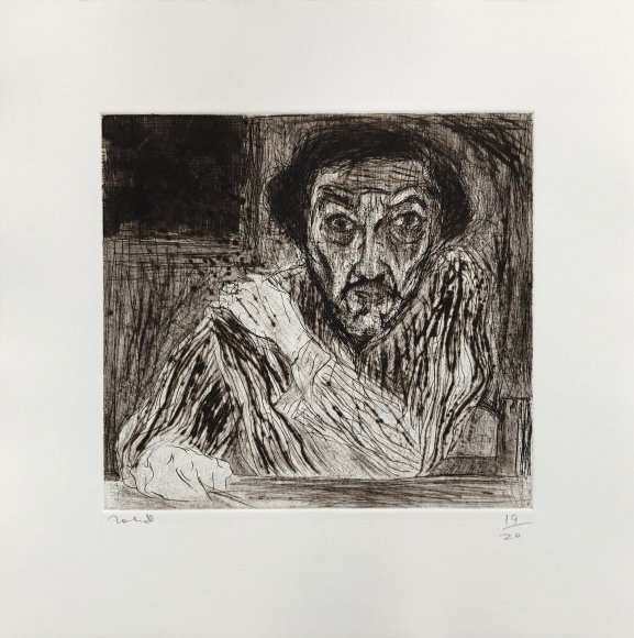 Self portrait of Francisco Toledo