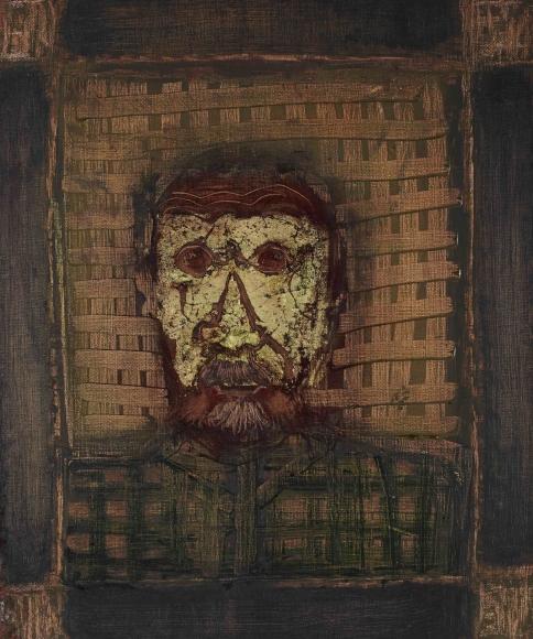Francisco-Toledo-Selp-Portrait-with-Petate