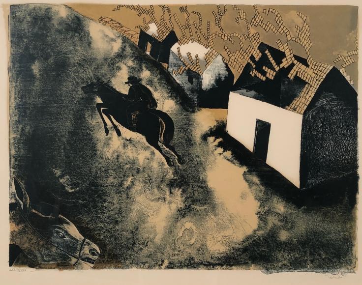 Francisco Toledo         Volador Azulejos, 1970