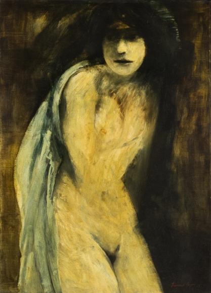 Francisco-Corzas-Standing-Nude