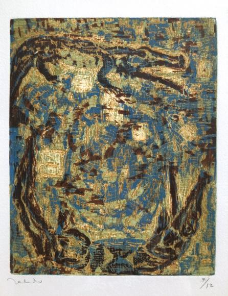 Francisco Toledo          Dos Cocodrilos, 1999