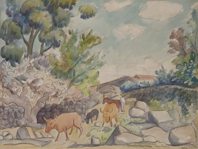Diego-Rivera-Herding-Cattle