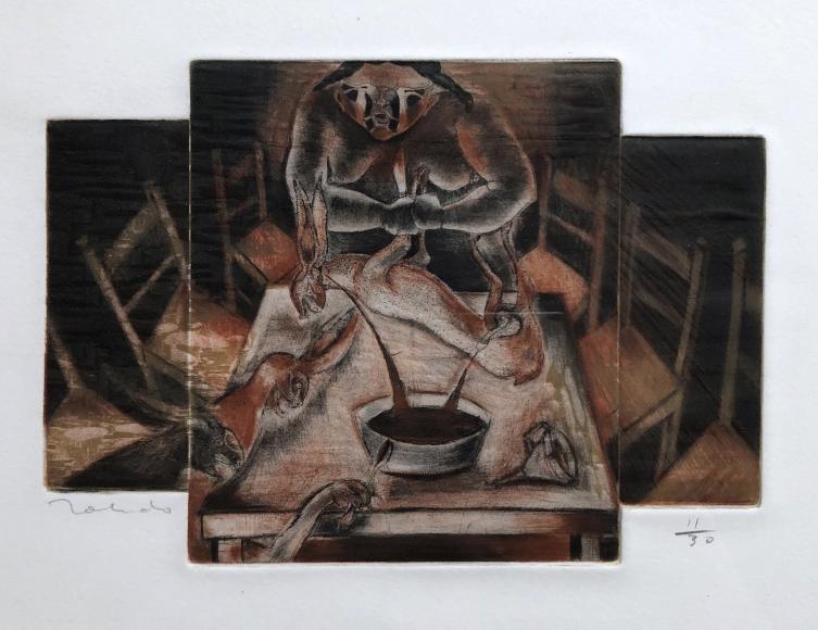 Francisco Toledo          Rabbit Soup, 1980