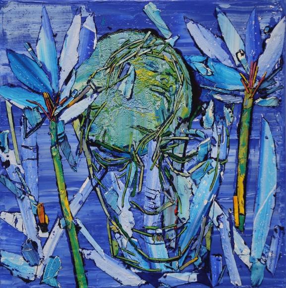 Arnaldo Roche painting