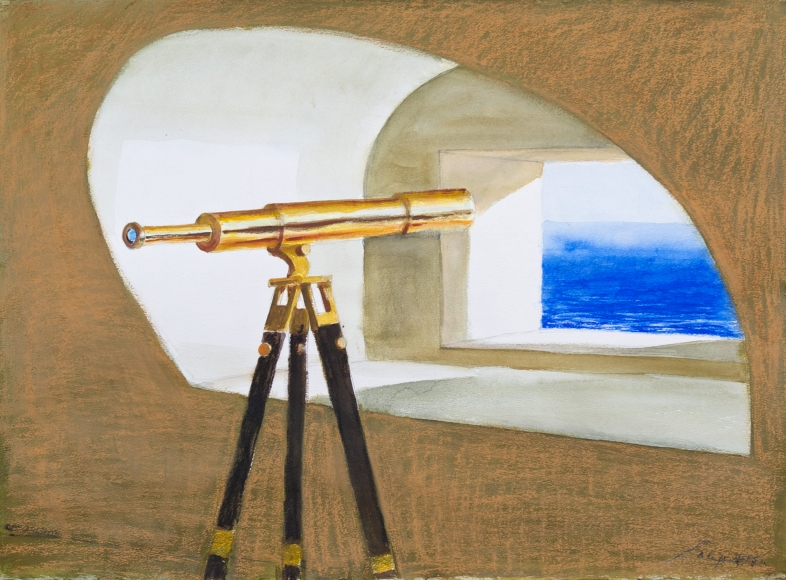 Julio-Larraz-Other-Shores