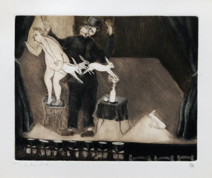 Francisco Toledo         The Magician, 1974