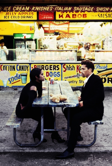 Stephanie Pfriender Stylander, Karen Alexander, Coney Island Tales, German Elle, New York, 1995